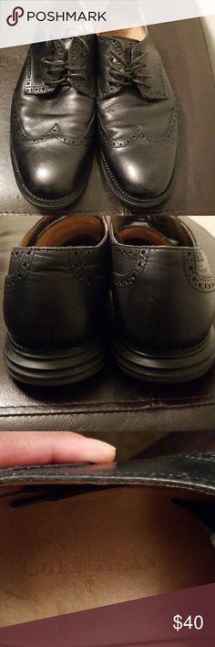Cole Haan Dress Shoe Size 12M GUC... Black Dress Shoe... Built For Comfort Cole Haan Shoes Oxfords & Derbys