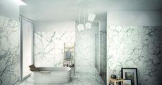 Granitkeramik Keope Elements Lux Calacatta All Klinker & Ceramic Store, Bathroom Trends, Calacatta, Contemporary Bathrooms, Luxor, Wow Products, Beautiful Bathrooms, Bathroom Inspiration, Living Spaces