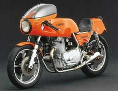 1974 Laverda 750SFC with air-cooled, four stroke, parallel twin cylinder 744 cc engine