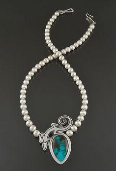 necklace, Ray Scott (Diné)