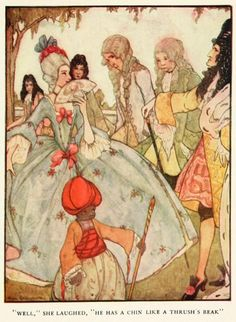 "rie cramer grimm fairy tales | Rie Cramer - Grimm's fairy tales (c1922) - ""Well,"" she ... | Rie Cram ..."