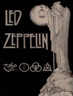 Led Zeppelin - LOVE this poster!