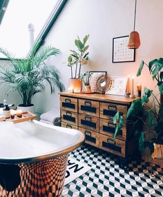 60 Best and Bright Boho Bathroom Ideas Bad Inspiration, Bathroom Inspiration, Bathroom Ideas, Bathroom Goals, Family Bathroom, Bathroom Styling, Bathroom Designs, Master Bathroom, Bohemian Bathroom