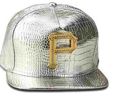 High Quality Brand Golden P Letter Metal Logo PU Hip Hop Hat Baseball Red  Silver Black de06e3d75c79
