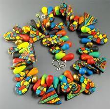 polymer clay art jewelry - Google Search