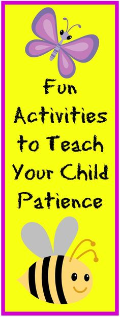 Patience is a Virtue | Teach Your Child Patience | #patience #teachpatience