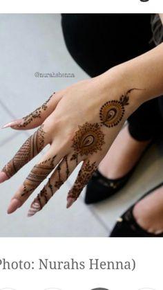 Finger Mehendi Designs, Rose Mehndi Designs, Khafif Mehndi Design, Henna Designs Feet, Mehndi Designs For Beginners, Modern Mehndi Designs, Mehndi Designs For Fingers, Mehndi Design Pictures, Beautiful Henna Designs