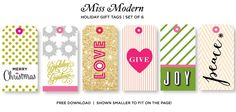 Free Christmas Modern Printables Deluxemodern Design