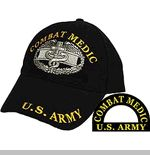 Combat Medic Embroidered Ball Cap