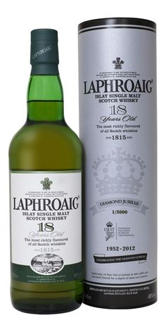 Laphroaig 18YO Jubilee Limited Edition #DiamondJubilee