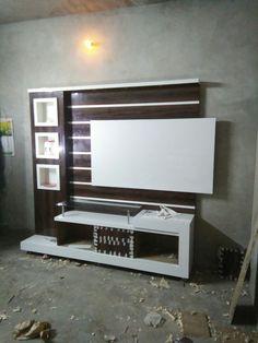 Modern Lcd Wall Unit Design - Pin by Babulalpaliwal Paliwal On Pl Lcd Panel Design, Small Modern Home, Modern House Design, Lcd Unit Design, Door Design Modern, Cupboard Design, Lcd Wall Design, Living Room Tv Unit Designs, Wall Unit