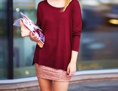 red and pink #fashion #style