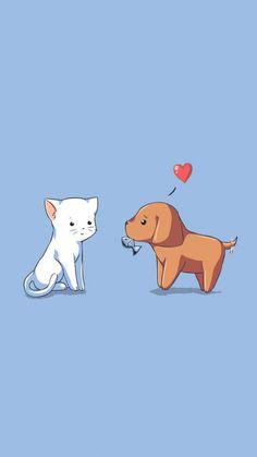 74 Best Cute Dog Phone Wallpapers Images Kawaii Wallpaper