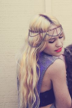 Gypsy Goddess Headband by wildandfreejewelry on Etsy, $32.50