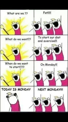 Or maybe even the Monday after?