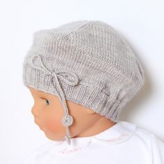 Ravelry: 32 / Baby Beret pattern by Florence Merlin