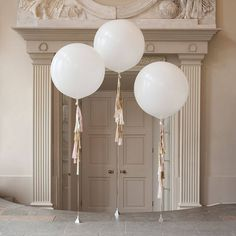 Baby Girl Tassel Tail Balloon