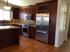 Warm Tones Transitional Kitchen by Kitchen & Bath Works - www.kandbworks.com - San Luis Obispo