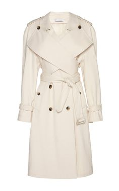 Cotton Drill Trench Coat With Wrap Front by J.W. Anderson - Moda Operandi