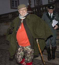 Prince Henrik looking ready for the annual royal hunt.