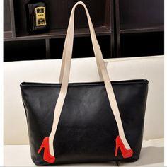 $14.99 (Buy here: https://alitems.com/g/1e8d114494ebda23ff8b16525dc3e8/?i=5&ulp=https%3A%2F%2Fwww.aliexpress.com%2Fitem%2F2015-New-Fashion-Women-Handbags-Hit-Color-Women-Shoulder-Bag-Large-Capacity-Casual-Tote-Black-Red%2F32271580876.html ) 2016 New Fashion Women Handbags Hit Color Women Shoulder Bag Large Capacity Casual Tote Black Red for just $14.99