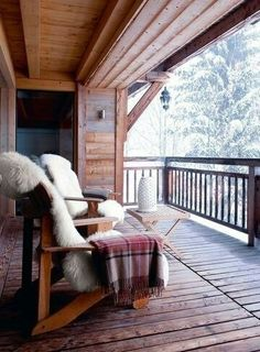 Just want a cosy cabin vibe.