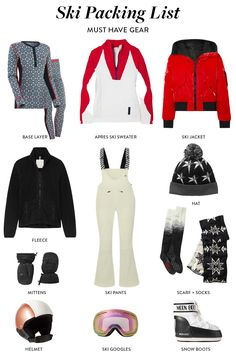 Contrary to what some may think, what to wear skiing and snowboarding is not simply what you might wear on a normal winter day. Here's a handy checklist of what to wear when you are hitting the slopes! #ski #snowboard #packinglist Ski trip packing list, what to wear skiing, what to wear skiing clothes, ski trip outfit, ski trip essentials, ski trip outfit woman, ski trip packing list women Ski Trip Outfit Woman, Day Trip Outfit, Ski Trip Packing List, Packing Lists, What Should I Wear, What To Wear, Snowboarding, Skiing, Vail Ski