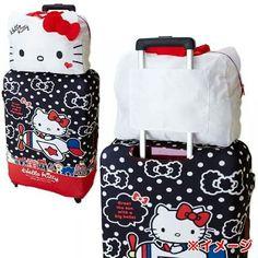 Hello kitty luggage add on