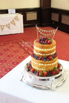 Rustic Wedding Cakes Yorkshire