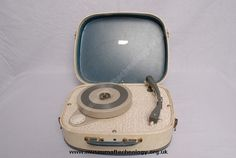 FIDELITY PORTABLE RECORD PLAYER, 1950's