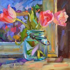 """Spring Delicacy"" - Original Fine Art for Sale - © Dreama Tolle Perry"