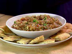 Roasted Eggplant Caponata recipe from Ina Garten via Food Network