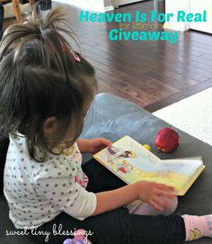 Heaven Is For Real for little ones Book Giveaway!