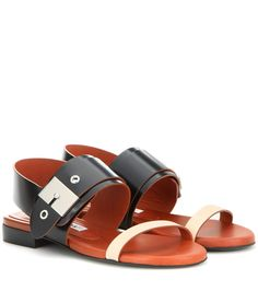 mytheresa.com - Ade leather sandals - Luxury Fashion for Women / Designer clothing, shoes, bags
