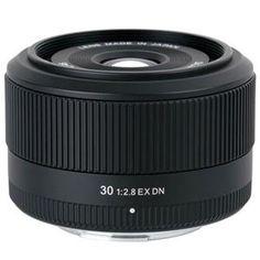Sigma 30mm f/2.8 EX DN Lens for Sony E-mount NEX Series Cameras 330965