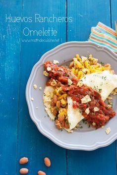 Huevos Rancheros Omelette | Mom de Cuisine