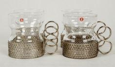 Glas för irish coffe Iittala Tsaikka Sarpaneva på Tradera. Finland, Irish, Candle Holders, Porcelain, Candles, Coffee, Retro, Tableware, Glass