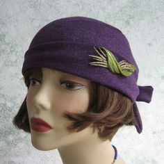 1931 Womens Flapper Hat Pattern PDF Email Pattern Easy To Make One Sz