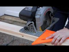 Circular Saw Tutorial. Good to know since DH is getting one for Christmas.