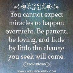 The change you seek