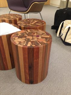 Cool side table! Woodshop project for the future...