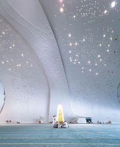 Mosque Architecture, Futuristic Architecture, Architecture Design, Beautiful Mosques, Beautiful Buildings, Education City, Quran Wallpaper, Islamic Decor, Facade Lighting