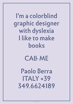 Paolo Berra – Breda Graphic design Festival 2015