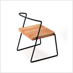 -Tetsubo Chair designer brand products, simple Scandinavian modern good design and domestic products made in Japan Japanese Japanese modern Dining chairs chairs chairs-wood solid wood iron &