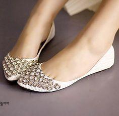2014 bright rhinestones flat shoes, single shoes ,wedding shoes,bridal shoes,closed-toe shoes,slipper shoes