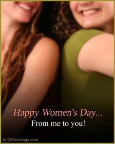 happy women's day scraps