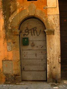 Trastevere, Rome.  Beautiful. Hate the graffiti