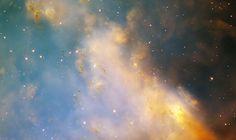 """Nebulosa do Haltere. """"Constelação da Raposa""""."""