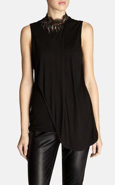 Elegant drape front vest   Luxury Women's fairytale   Karen Millen