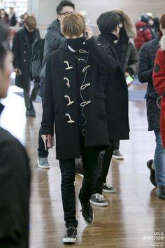 150114- EXO Kai (Kim Jongin); Incheon Airport to Beijing Airport #exok #men #fashion #style #happykaiday